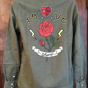 Love Story Graphic Jacket